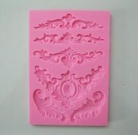 красивый цветок формы конфеты желе силиконовые Фондант кружева плесень плесени торт украшения/Кондитерские инструменты 3d, y021
