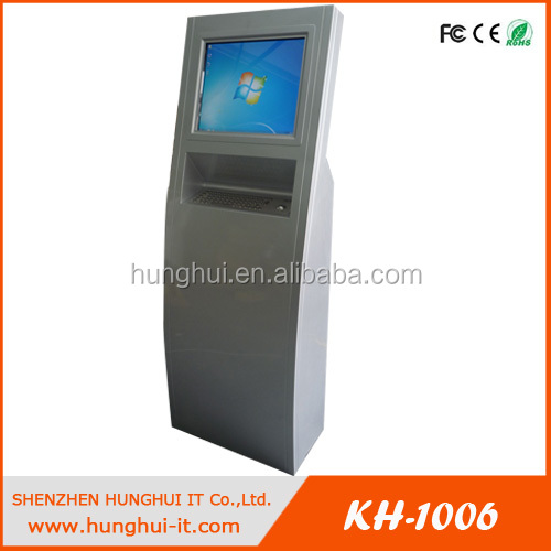 Self Service Payment Terminal Touch Screen Credit Card