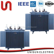 unisun 630 kva windings types of transformator manufacturer with IEEE standard