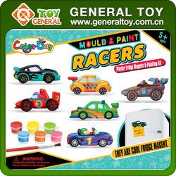 Creative DIY Painting Toy Car Shape Custom 3D Fridge Magnet
