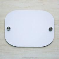 Blank Sublimation MDF door plate L337 sublimation door number plates