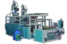 Shanghai Tailian Brand HDPE/LDPE high speed stretch film rewinding making machine
