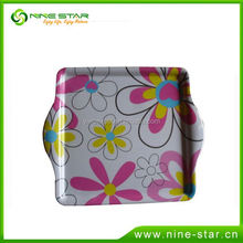 New Arrival simple design plastic tray in many style
