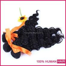 2015 Grade 7A 100% virgin human hair deep curly peruvian/ malaysian/ indian/ mongolian/ brazilian hair weave