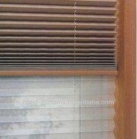 2015 hot sale good quality daylight&blackout plisse curtain