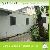 Finshed Energy Saving Residential Camp House with Equipment