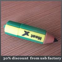 slim 8GB pen pencil shape usb flash drive