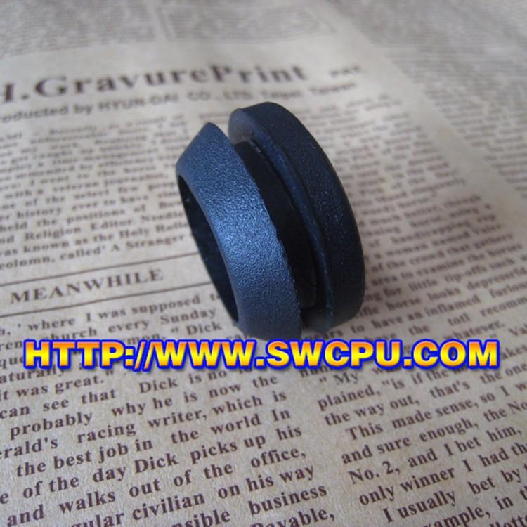 Черный или прозрачный маленький автомобиль силиконовой резины втулка ушка