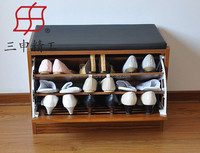 High Quality Cheap Wooden Shoe Rack Bench