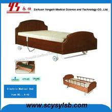 High Quality Wooden Medical Hospital Nursing Home Furniture Bed