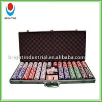 Custom Casino poker chip set