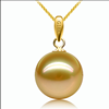 AAA 9.5-10MM Nuture Gold color pearl pandents . Good price