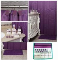 latest luxury purple ceramic bathroom accessory