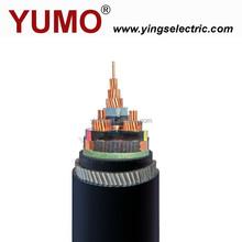 YUMO CU/XLPE/SWA/PVC, AL/XLPE/SWA/PVC MV