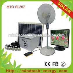 low cost 40w residential home solar panel kit and solar fan