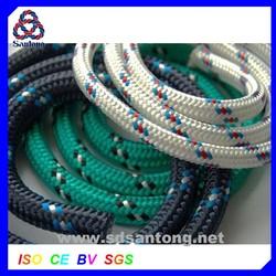 diamond braided nylon/pp/polyester rope for marine use