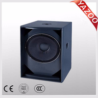 YAZOO hot sale 15inch S-15+ 500W professional passive subwoofer