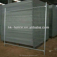 Hot Dipped Galvanized Temporary Portable Fence For Construction