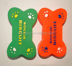 high quality squeaky biscuit vinyl dog toys rubber pet toy