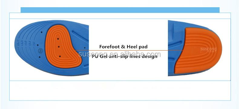 in voller l nge pu schaum einlagen pu gel einlage schuheinlage einlegesohlen produkt id. Black Bedroom Furniture Sets. Home Design Ideas