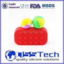 Alta qualidade personalizado 7ml 500ml pequena garrafa térmica/petróleo dab recipiente de cera/cera de silicone e recipiente de óleo