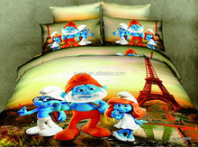 Use and Comforter Set Type 3d bedding animal style printed bedding set