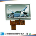 Painel digital 5- polegadas 800( rgb) x480 resolução tft-lcd digital de alta definição de cores do painel de tela