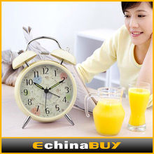 High quality classic alarm clock , mini type high end pretty alarm clock for sale