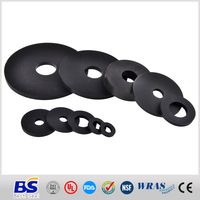 Compression molded standard and non-standard rubber seal washer