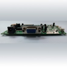 Our company ODM AD Board support 60pin LVDS screen and LCD 180 degree flip