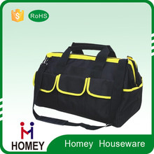 Factory Customized Fabric Heavy- Duty ElectricalTool Bag With Shoulder Straps