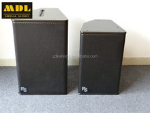 2014 high effective PS10 8ohms 300w 2 way 10 inch full range big speaker system for concert stage