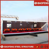 Competitive price prefabricated customized container house for