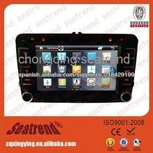 De navegación para automóviles gran pantalla de 7 pulgadas con la navegación del coche multimedia