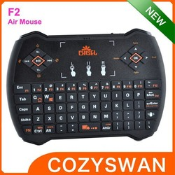 mini keyboard+touched remote control 10m Operating Distance