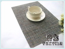 pvc woven mesh foam placemats for round tables
