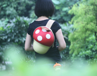 new product mushroom pattern bags japanese style casual backpack china wholesale online shopping backpack