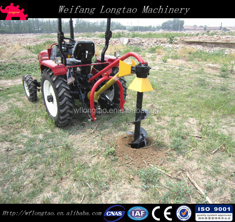 Mini Garden Tractor Pto Driven Hole Digger For Sale Buy