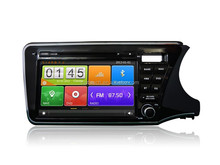 For Honda City 2014 RHD car dvd gps navigation with 3G wifi and OBD