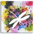 2015 design de moda de alta qualidade artesanal exclusivo libélula abstrata da pintura a óleo sobre tela acrílica libélula pintura atacado