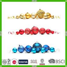 Cristal de la decoración de la navidad bola para ornamento colgante
