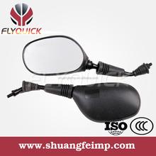 FLYQUICK motorcycle motorbike racing bike side mirror plastic mirror for HONDA HERO YBR125
