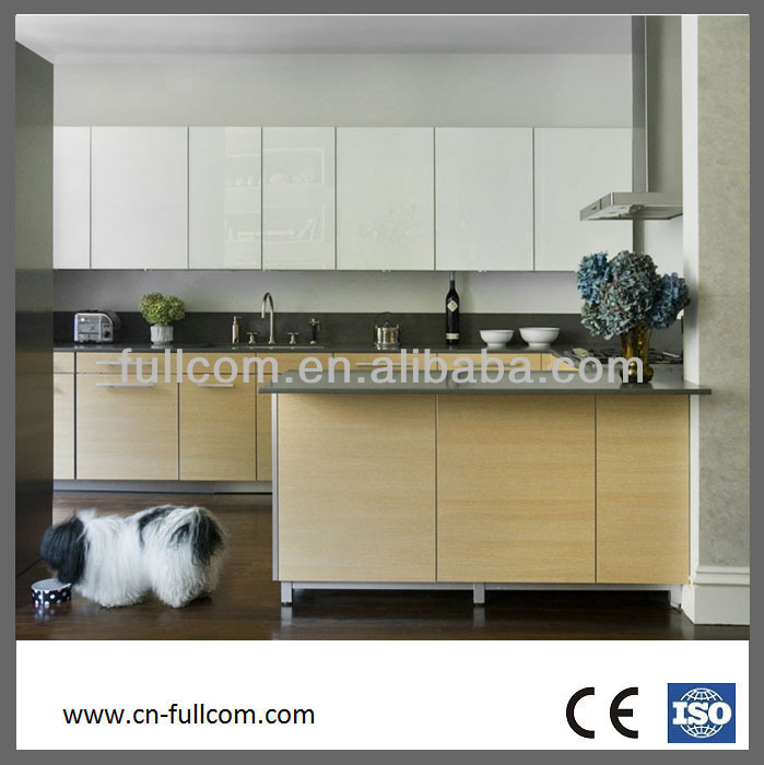 Flat Front Kitchen Cabinet For Economical F Modern Flat Front Kitchen