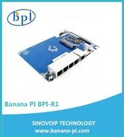 full test 150M 1 WAN port+4 Mbps LAN port plastic case mini openwrt adsl linux wifi router board