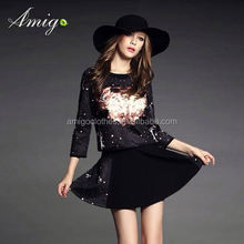 free shipping prom formal dress for mature women
