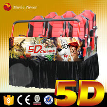 Convenient to transport and install 5d cinema platform
