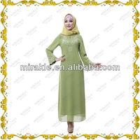 MF19127 new design abaya of jeddah dresses.