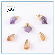 Newest style wholesale amethyst crystal pendant