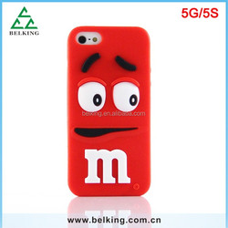 Lovely Soft Case For iPhone 5S, for iPhone 5 Silicon Case Soft, Rubber Case for iPhone 5