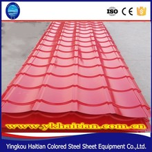 Colored Steel Used Corrugated Roof Sheet